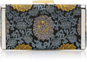 Hayward Venetian Brocade Slim Box Clutch