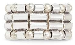 Philippe Audibert Mixed bead elastic ring