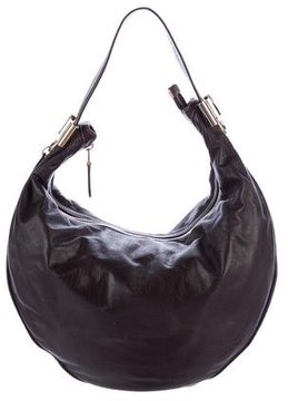 Gucci Leather Duchessa Hobo - BROWN - STYLE