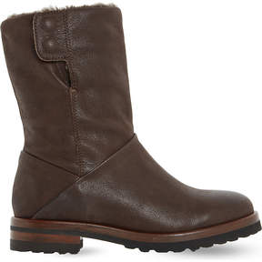 Dune Rayner shearling-lined boots