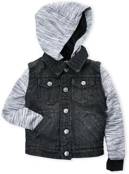 Urban Republic Boys 8-20) Denim Hooded Jacket