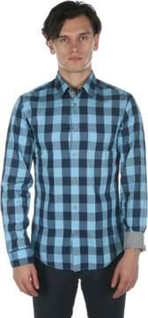 HUGO BOSS C-Bua Button Down Shirt in Navy 50290190-410
