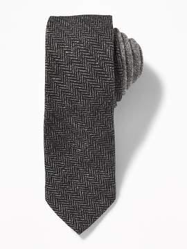 Old Navy Tweed Herringbone Tie for Men
