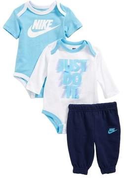 Nike Infant Boy's 3-Piece Bodysuit & Jogger Pants Set