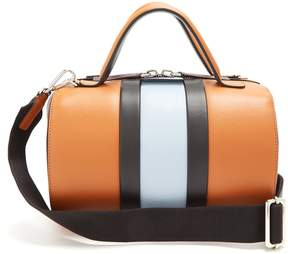 Marni Duffle striped leather bag