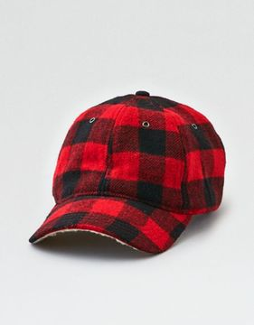 American Eagle Outfitters AE Faux Sherpa Flannel Hat