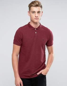 Jack Wills Aldgrove Pique Polo Shirt In Damson
