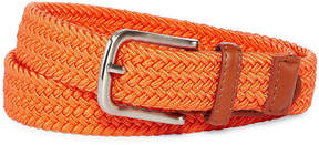 Izod Orange Stretch Web Belt - Boys 4-20