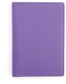 Royce Leather Royce Purple RFID Blocking Leather Passport Wallet