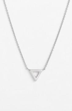 Bony Levy Women's Triangle Pendant Necklace (Nordstrom Exclusive)