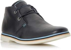 Dune London COMET - NAVY Color Pop Leather Chukka Boot