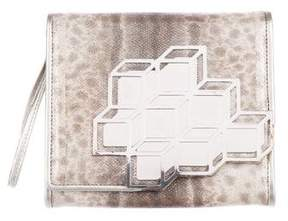 Pierre Hardy Mirror-Accented Clutch