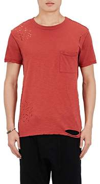 NSF Men's Distressed Cotton Jersey T-Shirt
