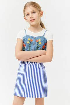 Forever 21 Girls Striped Mini Skirt (Kids)