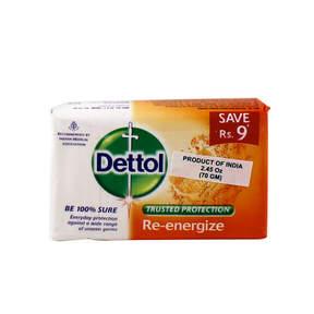 Re-energize Soap by Dettol (70g Soap Bar)