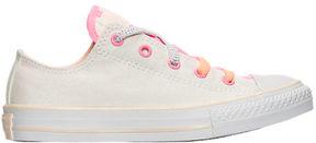 Converse Girls' Preschool Chuck Taylor All Star Loopholes Ox Casual Shoes