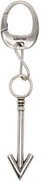 Lanvin Silver Arrow Keychain