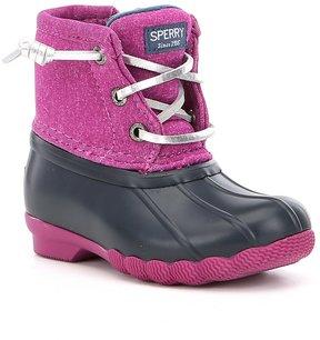 Sperry Girls Saltwater Boots