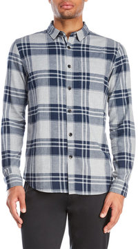 Bench Flannel Plaid Sport Shirt