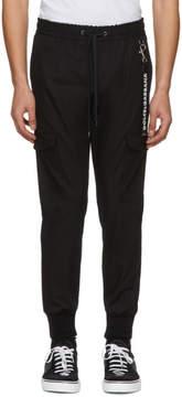 Dolce & Gabbana Black Drawstring Cargo Pants