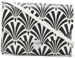 The Cambridge Satchel Company Large Push Lock Deco print satchel