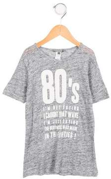 Bonpoint Boys' Linen Printed T-Shirt