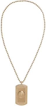 Balmain Gold Razor Necklace