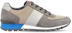 Prada Match Race Nubuck & Mesh Running Sneaker