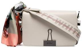 Off-White White Mini leather cross-body bag