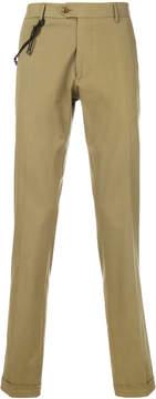 Berwich cuff straight leg trousers