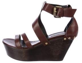 Vic Matié Leather Platform Wedges