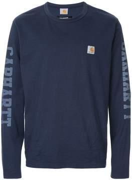 Junya Watanabe MAN Comme Des Garcons Man x Carhatt printed sleeve jumper