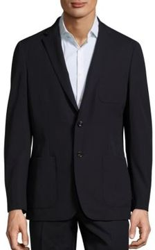 Michael Kors Slim-Fit Trop Wool Blazer