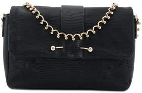 RED Valentino embellished snake embossed shoulder bag
