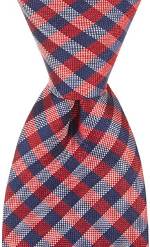 Class Club 50 Checked Tie