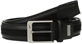 Nike Leather/Woven G-Flex Men's Belts