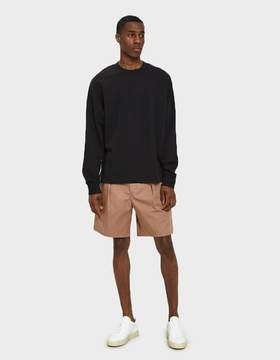 Lemaire Elasticated Shorts in Rosewood