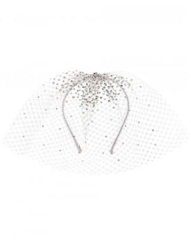 Gigi Burris Millinery embellished tulle headband