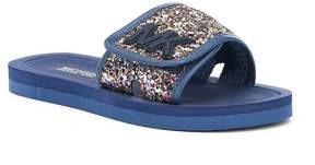 MICHAEL Michael Kors Girls' Eli Glitter Glow Slides