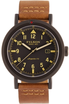 Filson Men's Scout Gray Dial Watch, 50mm