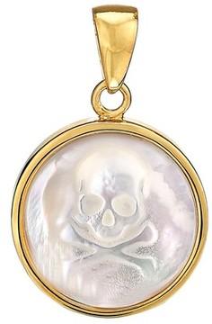 Asha Women's Skull Mother-Of-Pearl Charm
