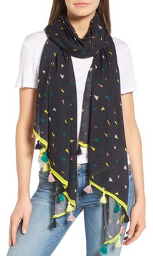 Rebecca Minkoff Women's Paper Airplane Oblong Scarf