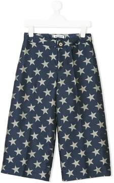 Dondup Kids star print trousers