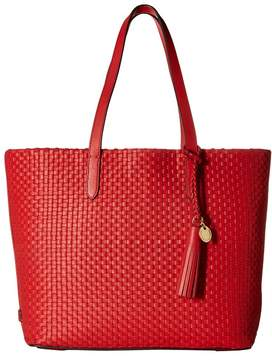 Cole Haan Woven Leather Payson Tote Tote Handbags