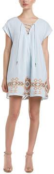 Dolce Vita Roxanne Linen-Blend Shift Dress