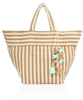 JADEtribe Valerie Stripe Beach Tote
