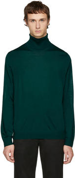Paul Smith Green Merino Turtleneck