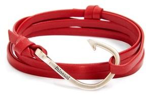 Miansai Men's Hook Leather Bracelet