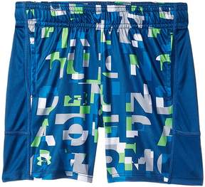 Under Armour Kids Wordmark Stunt Shorts Boy's Shorts
