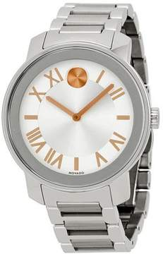 Movado Bold Stainless Steel Men's Watch, 3600196